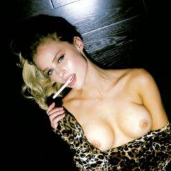 Allie Leggett boobs