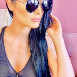 eva marie black hair
