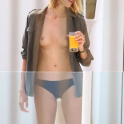 Anja Rubik Topless Photos 8