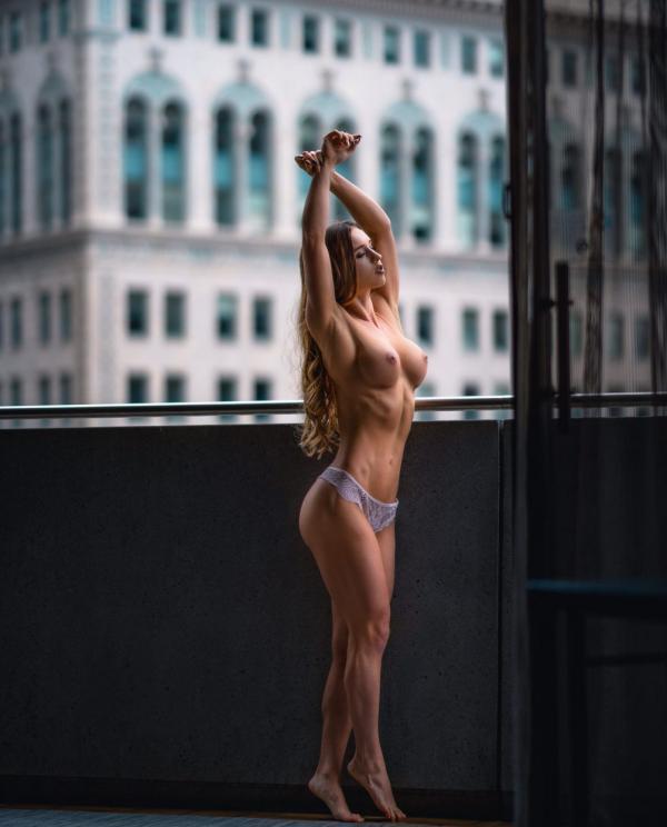 Briana Agno topless