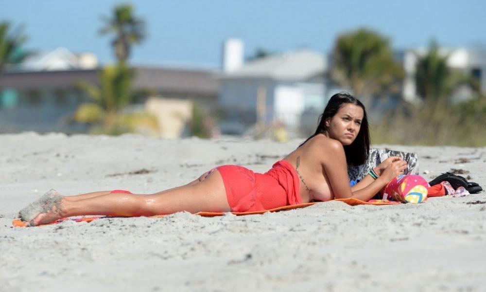 Briana DeJesus Topless Photos 7