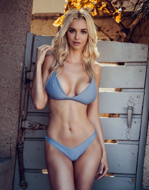 Caitlin Arnett | High neck bikinis, Instagram models, Will