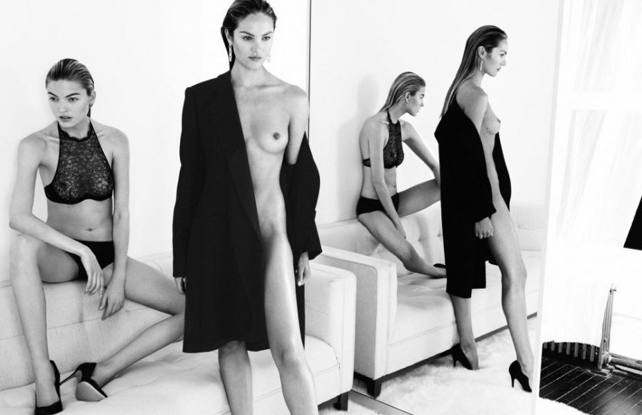 Candice Swanepoel Martha Hunt Nude
