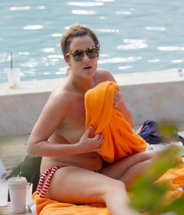 Caroline Flack boobs