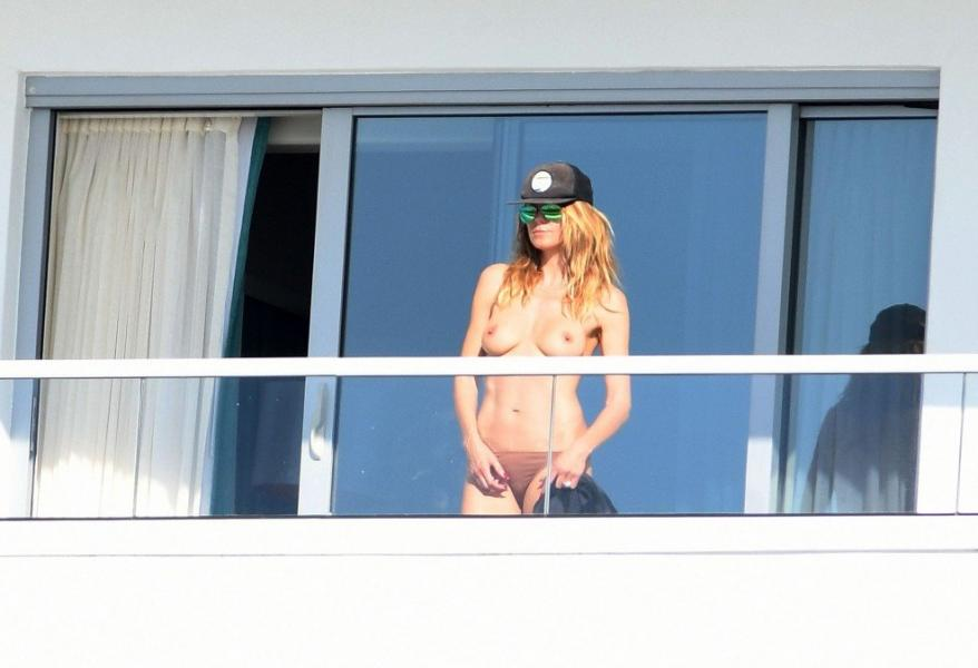 Heidi Klum Topless Pics 11