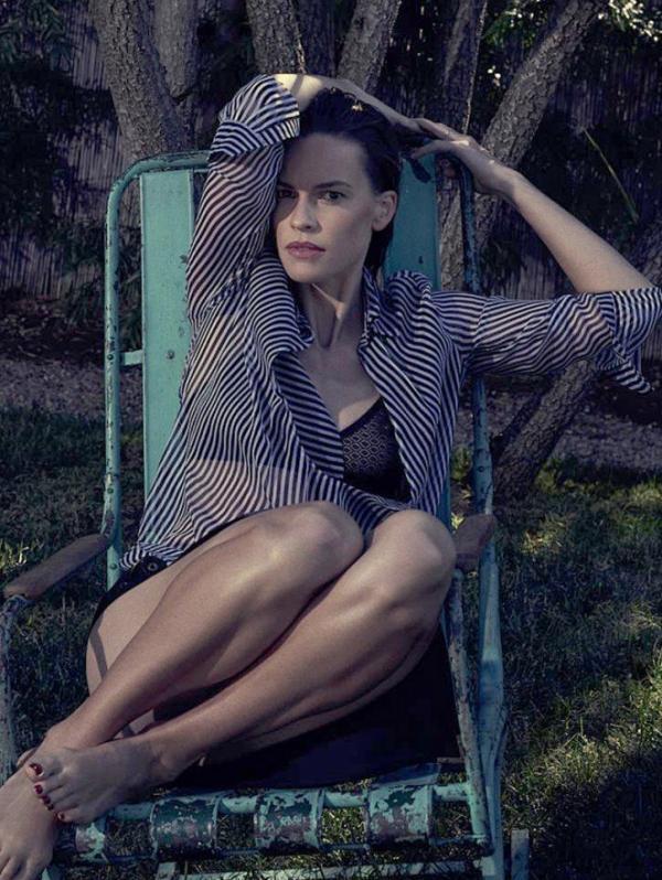 Hilary Swank Naked Photos 5