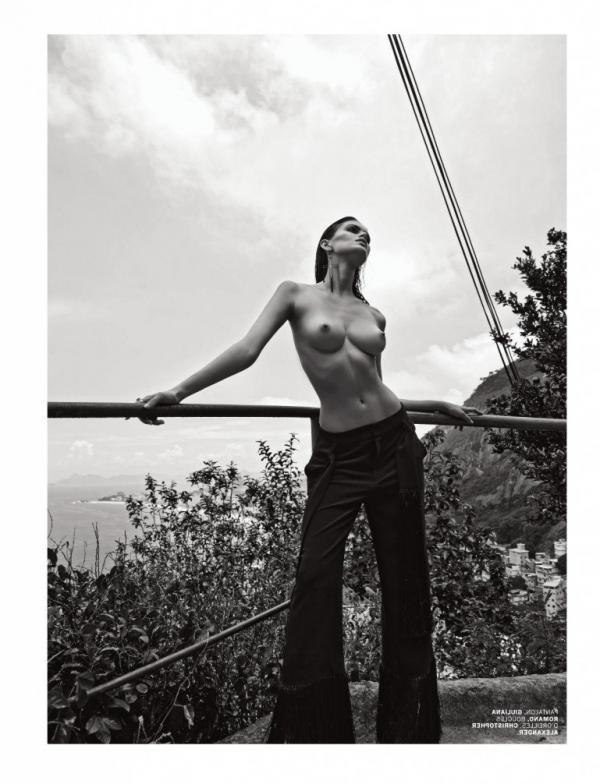 Kamila Hansen Sexy Topless Photos 14