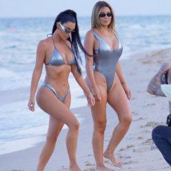 Kim Kardashian Larsa Pippen Sexy Photos 19