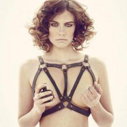 Lauren Cohan Sexy Topless Photos 2