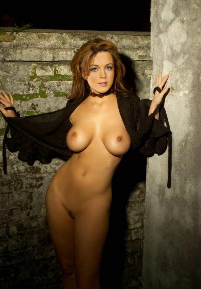Lindsay Lohan Boobs Show