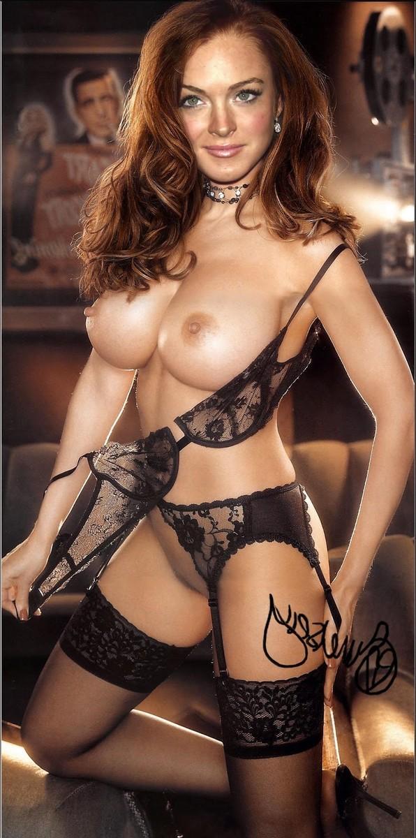Lindsay Lohan Nude Boobs