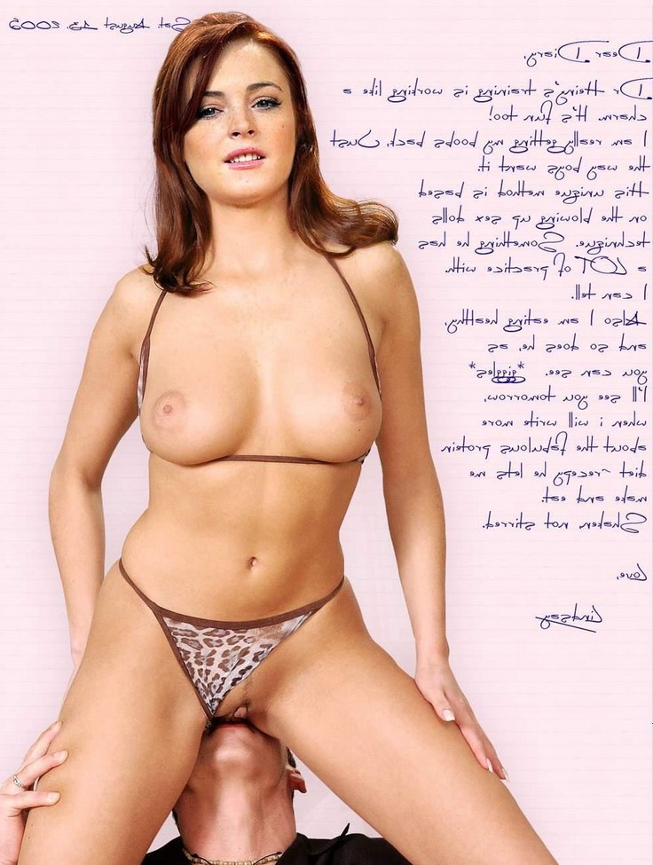 Lindsay Lohan Pussy Licked
