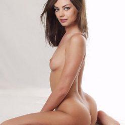 Mila Kunis Sitting Nude