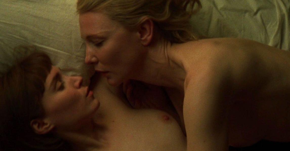 Lesbian Scene Rooney Mara Cate Blanchett Nude