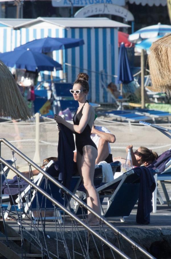 Lili Collins Sexy Pics 115