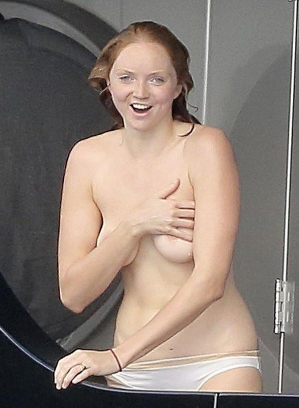 Lily Cole Topless Photos 1