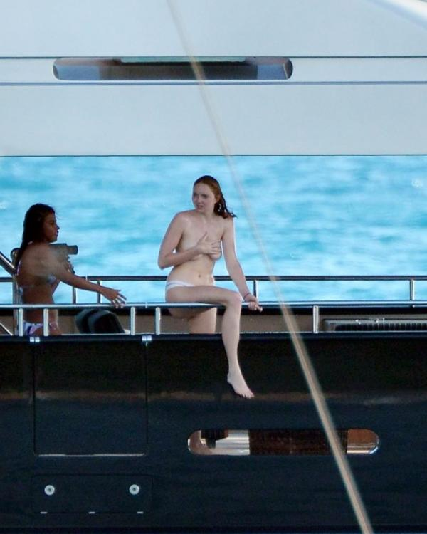 Lily Cole Topless Photos 15