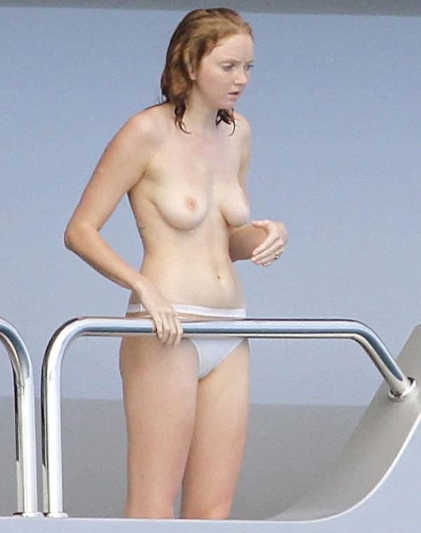 Lily Cole Topless Photos 2