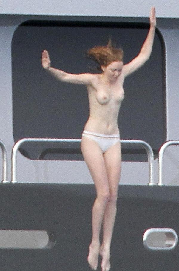 Lily Cole Topless Photos 3