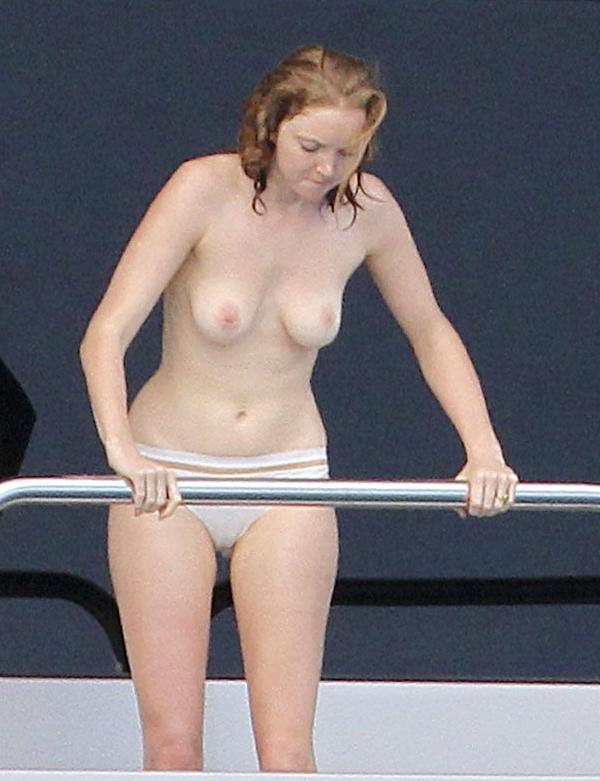 Lily Cole Topless Photos 4
