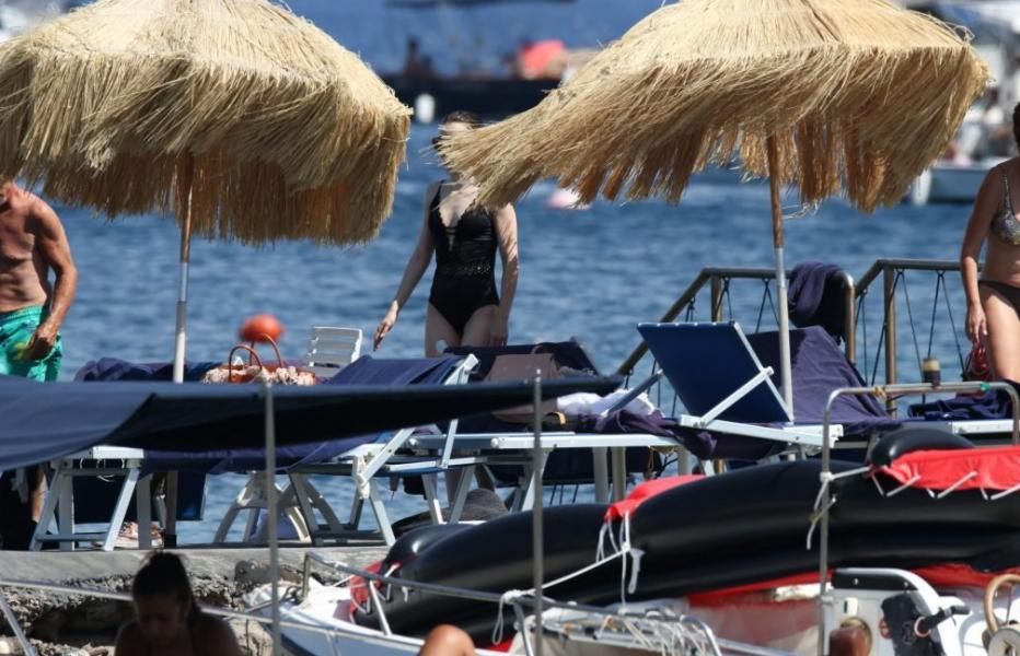 Lily Collins Nip Slip Photos 16
