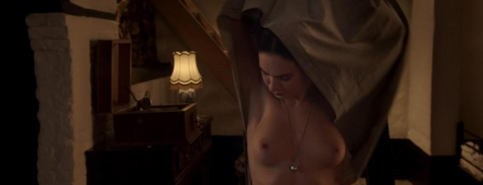 Lily James ETC Nude The Exception HD 2