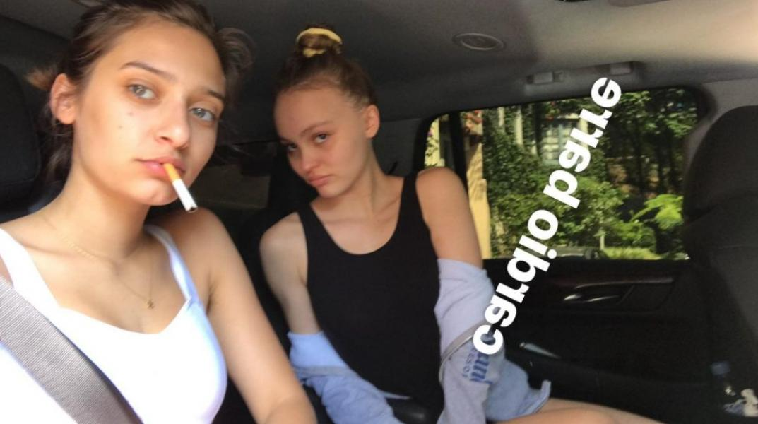 Lily Rose Depp Sexy Topless Photos 64