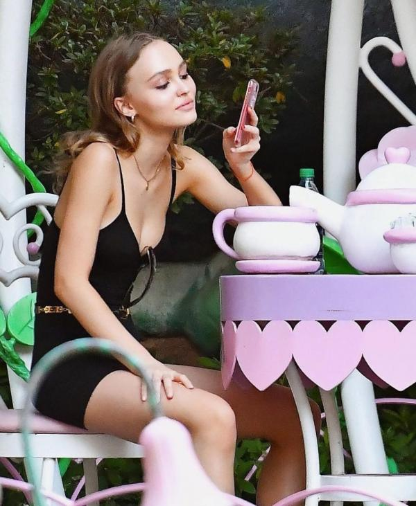 Lily Rose Depp Sexy Topless Photos 96