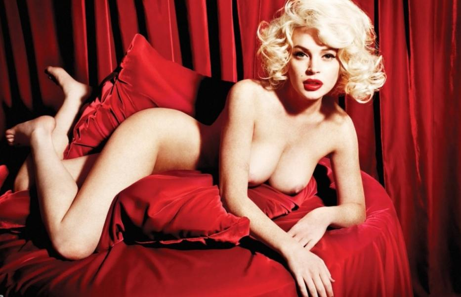 Lindsay Lohan Naked Photos 4