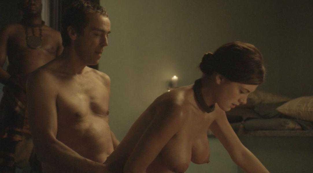 Lucy Lawless Lesley Ann Brandt Laura Surrich Nude Spartacus 5