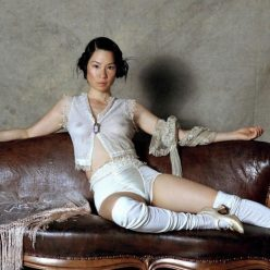 Lucy Liu See Through Photos