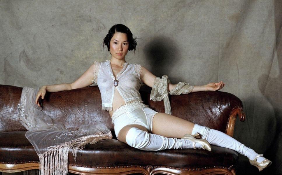 Lucy Liu See Through Photos