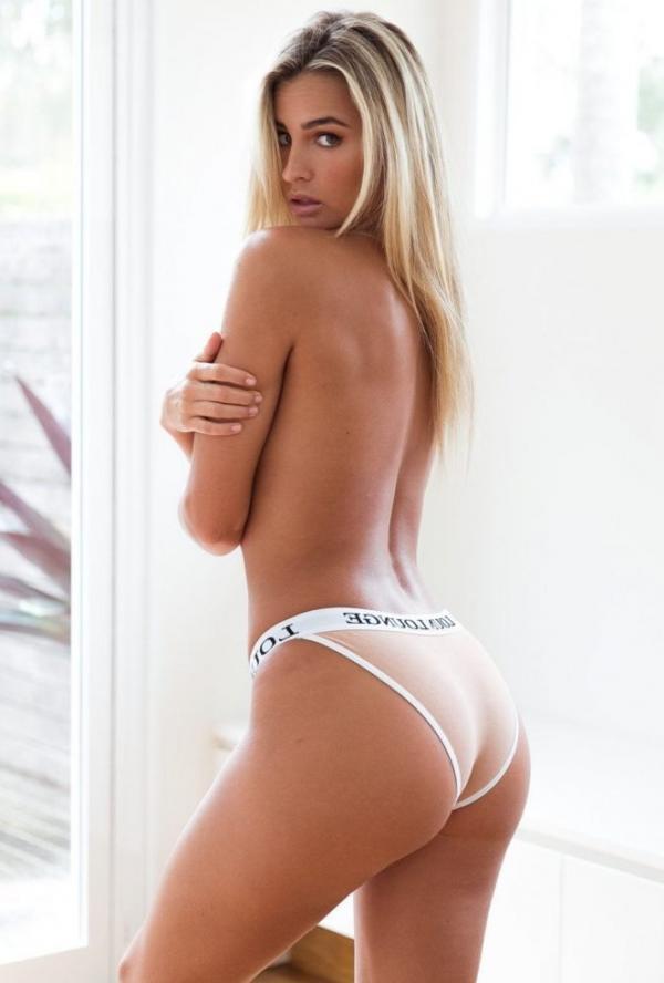 Madi Edwards Sexy Topless Photos 1