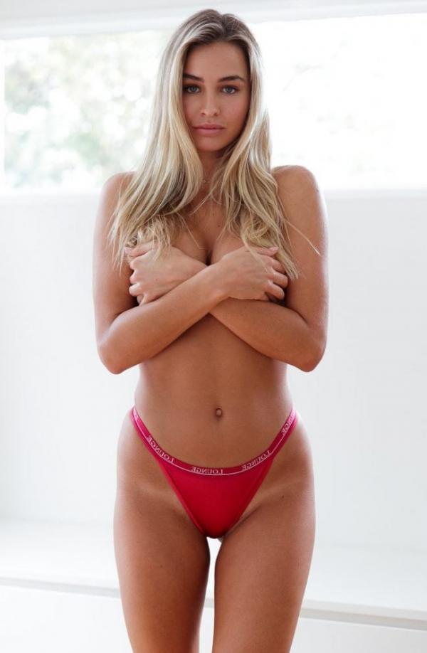 Madi Edwards Sexy Topless Photos 24