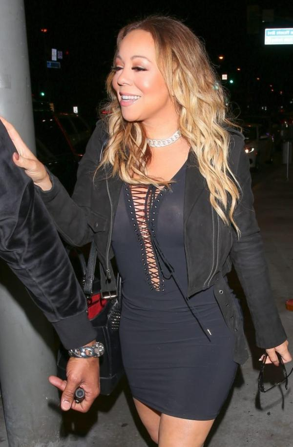 Mariah Carey Braless 1