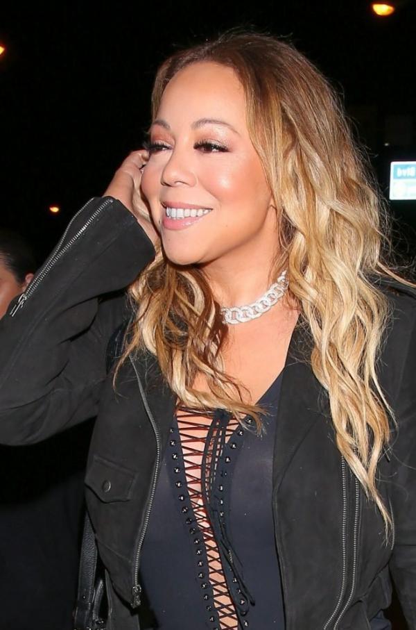 Mariah Carey Braless 23