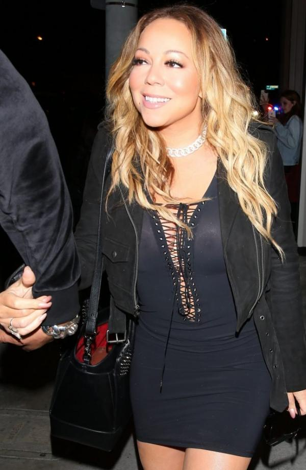 Mariah Carey Braless 27