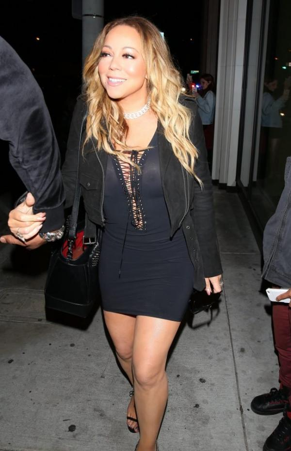 Mariah Carey Braless 28