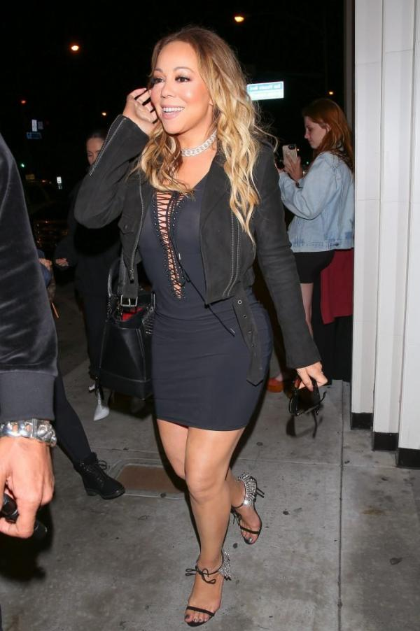 Mariah Carey Braless 3