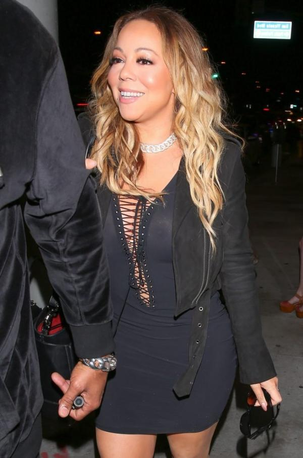 Mariah Carey Braless 4