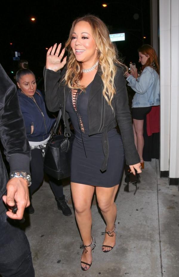 Mariah Carey Braless 5