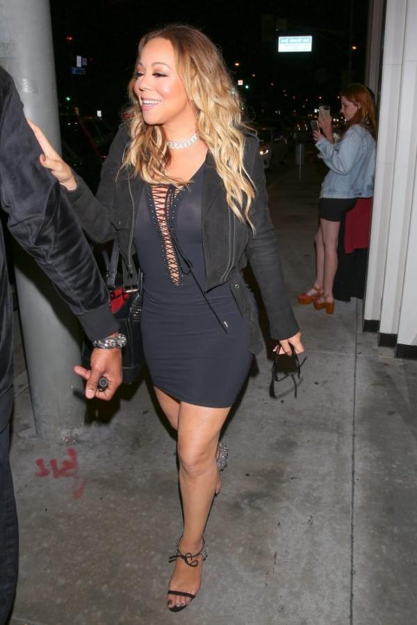 Mariah Carey Braless 8