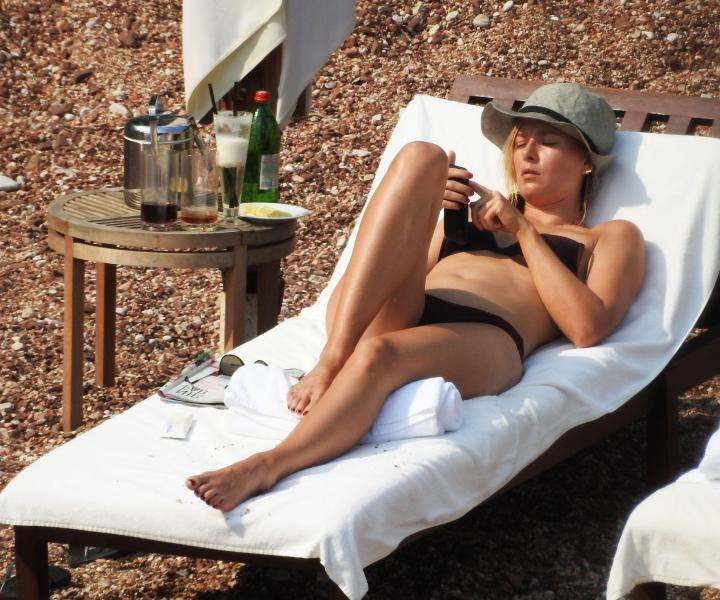 Maria Sharapova in a Bikini 2